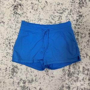 Athleta Blue Bathing Suit Shorts